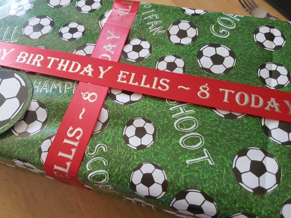 Printed Personalised Gift Ribbon